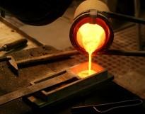 jewelry casting machine working onsite