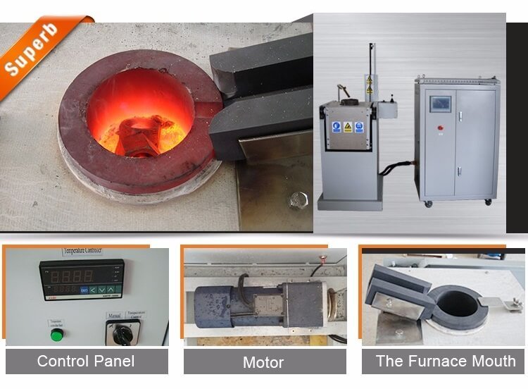 chain-tilting-melting-furnace-details