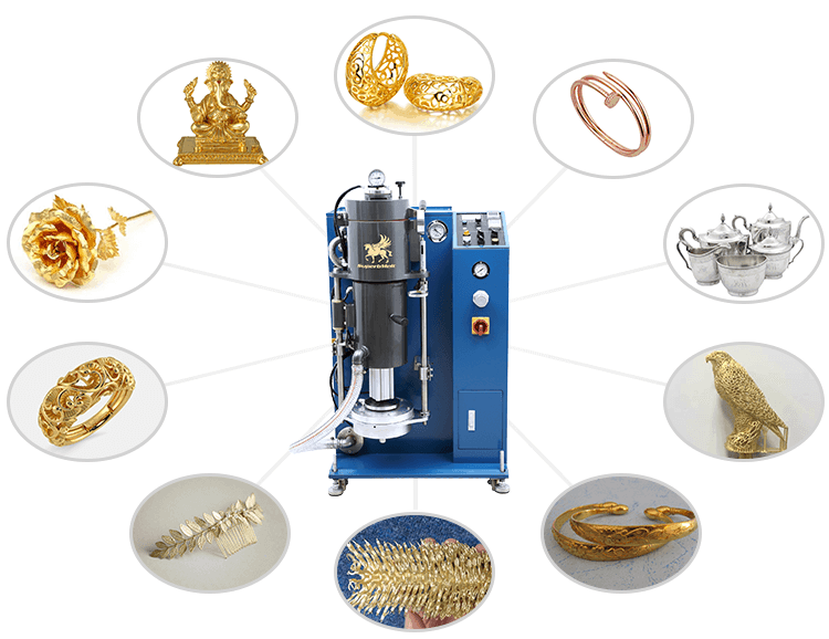 jewelry casting machine application