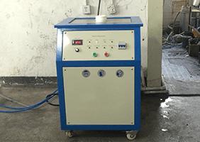 Stationary Platinum Melting Machine working onsite