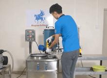 Vacuum Investment Powder Mixer Video