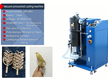 Jewelry vacuum casting machine for jewelry casting