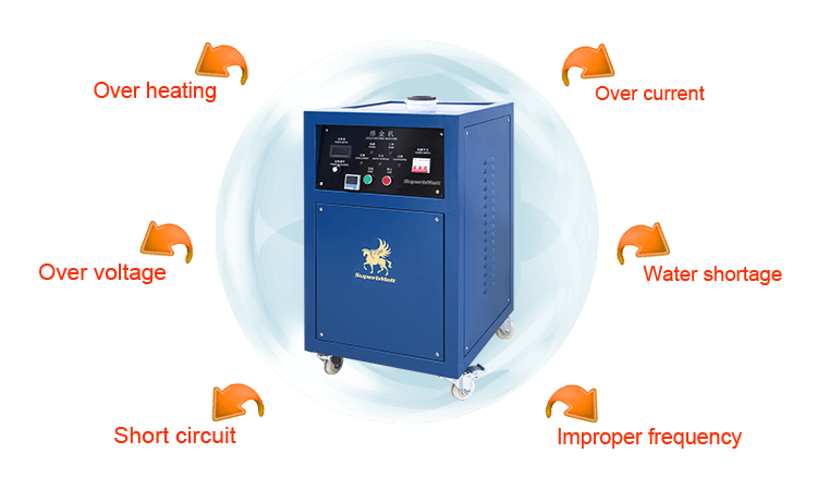 Gold Melting Equipment Power protection