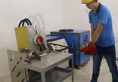 gold melting furnace for 30kg gold