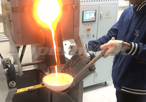 small induction furnace for gold smelting