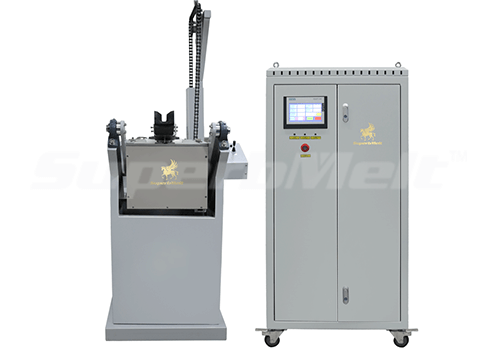small induction melting furnace for gold smelting