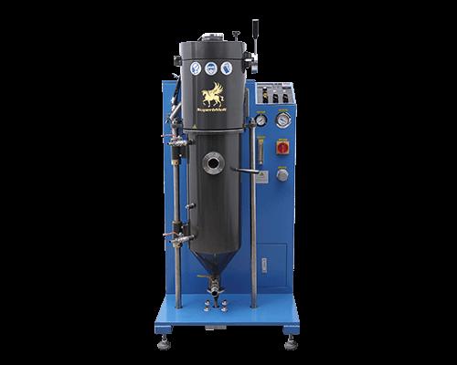 Vacuum granulation machine for gold/silver/copper