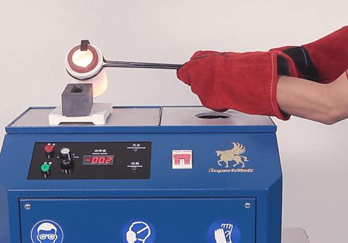 Metal Melting Furnace Induction Metal Melting Machine For