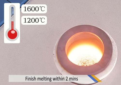 mini gold melting furnace