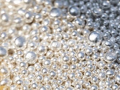 vacuum granulating machine for silver