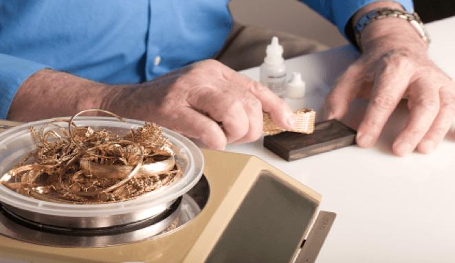 gold testing machine for jewelry
