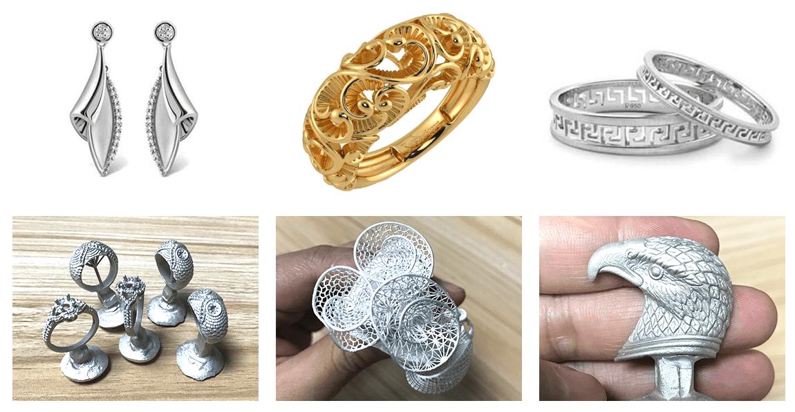 mini jewelry casting kit application
