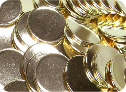gold coin blank