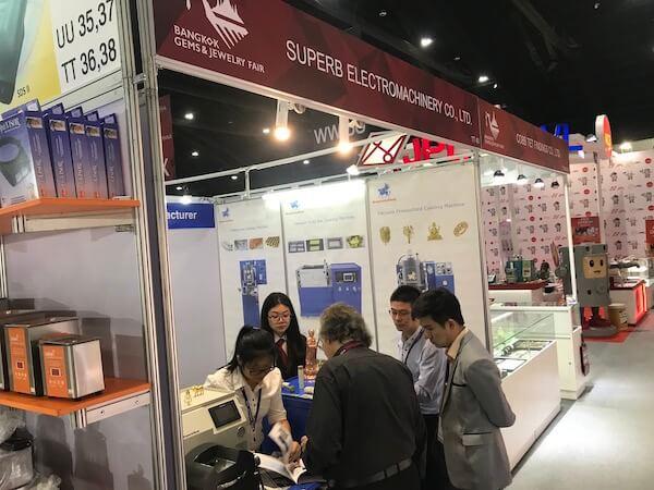 2018.9 Bangkok Gems And Jewelry Fair