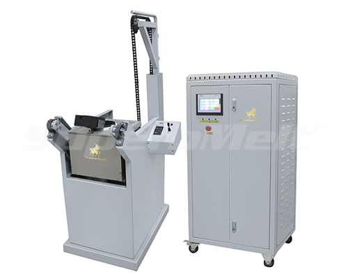small chain tilting induction furnace