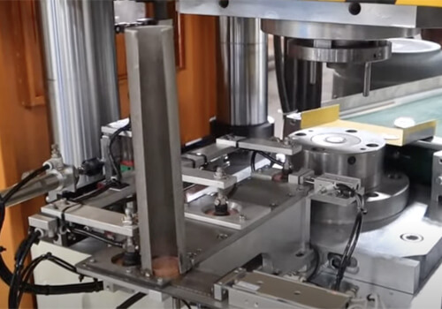 automatic coin minting press