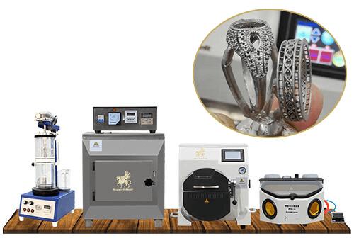 platinum casting machine